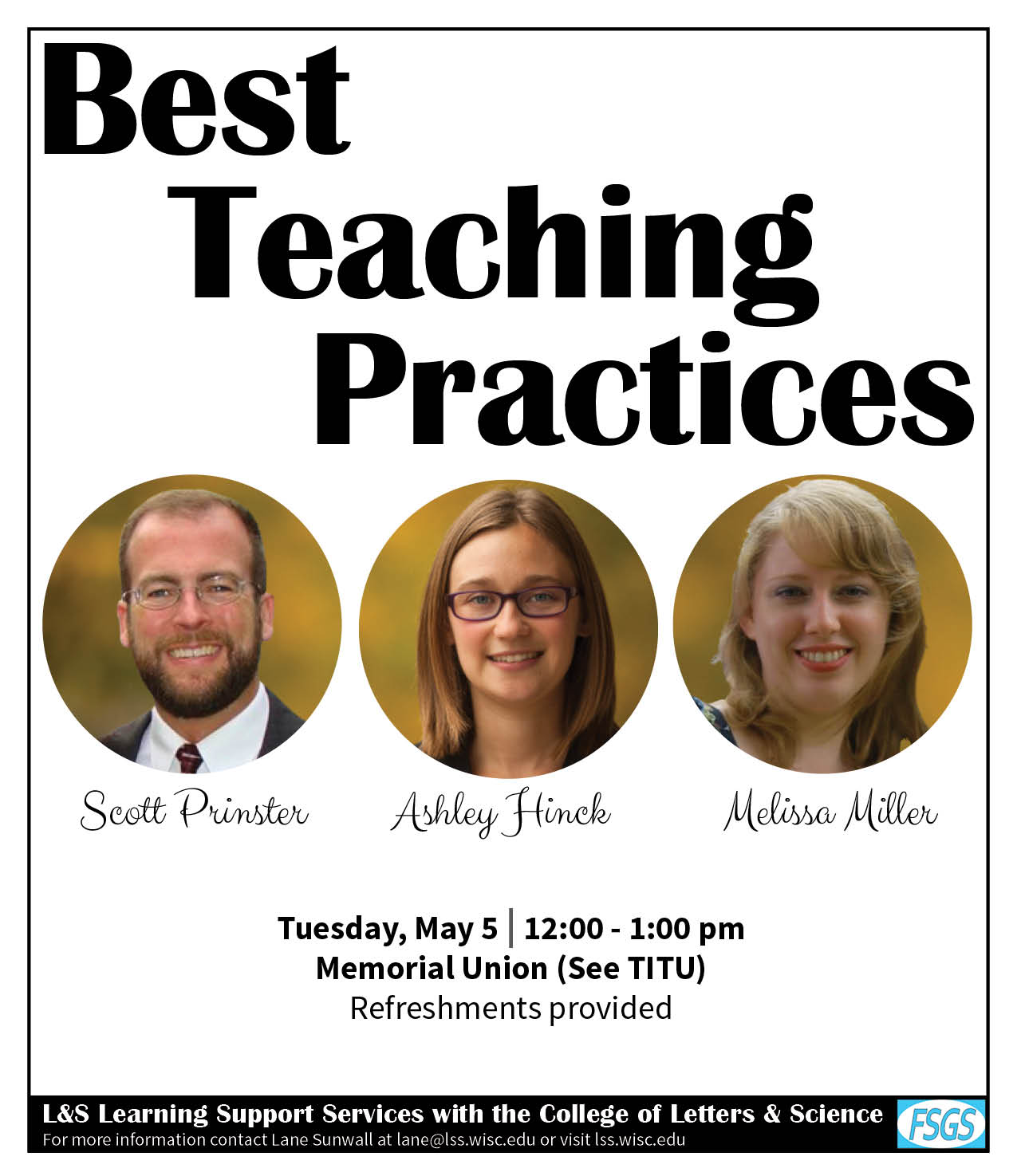 Best Teaching Practices Poster