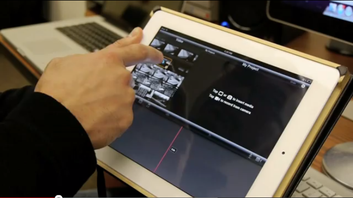 Editing your language skit assignment in iMovie on an iPad 2